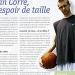 Kevin Corre, basketeur